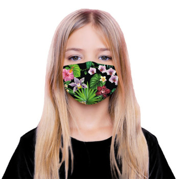 Anti-Dust PM2.5 Mouth Masks Cartoon 3D Print masks Dust-proof Washable Breathable masks 5 Layers of Filtering Protection