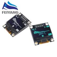 Новый продукт 0,96 дюймов OLED IIC белый/желтый синий/синий 12864 oled дисплей модуль I2C SSD1306 плата с ЖК экраном для Arduino