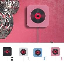 DVD OYNATICI duvara monte taşınabilir Bluetooth ev ses Boombox Bluetooth CD/DVD all in one oyuncu kablosuz uzaktan kontrol FM radyo