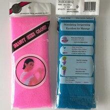 2pcs beauty skin exfoliating cloth washcloth japanese body wash towel nylon