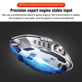 K680 Gaming keyboard and Mouse Wireless keyboard And Mouse Set LED Keyboard And Mouse Kit Combos 6