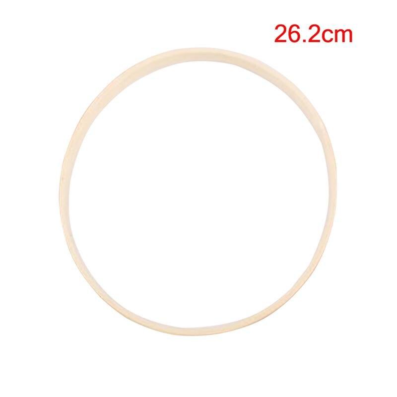 1pc Traum Catcher Ring Stickerei Werkzeug Bambus Kreis Runde DIY Kunst Handwerk Kreuz Stich Traditionellen Nähen Manuellen Werkzeug (26,2 cm)