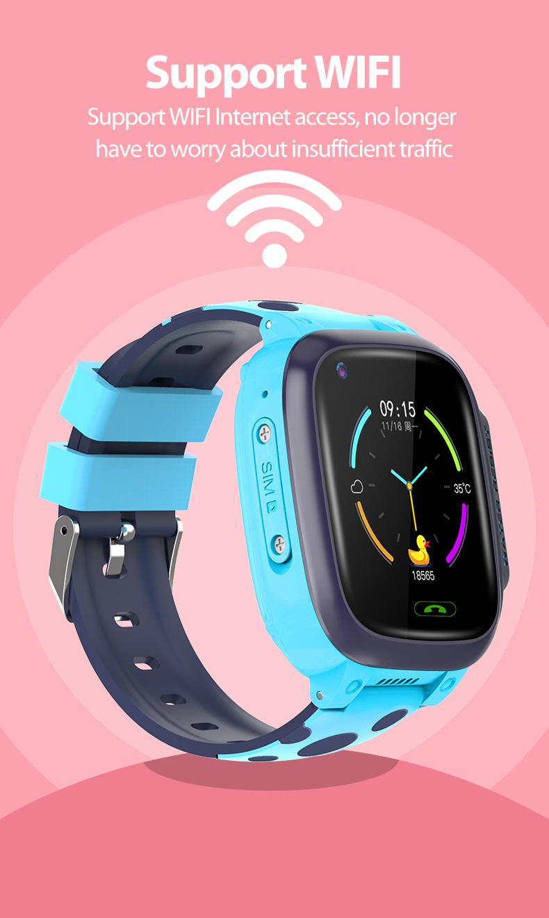 Smart Watches Smart Wristband HD Video Call GPS Positioning Sports Watches  Fitness Tracker Waterproof Smartwatch For Android