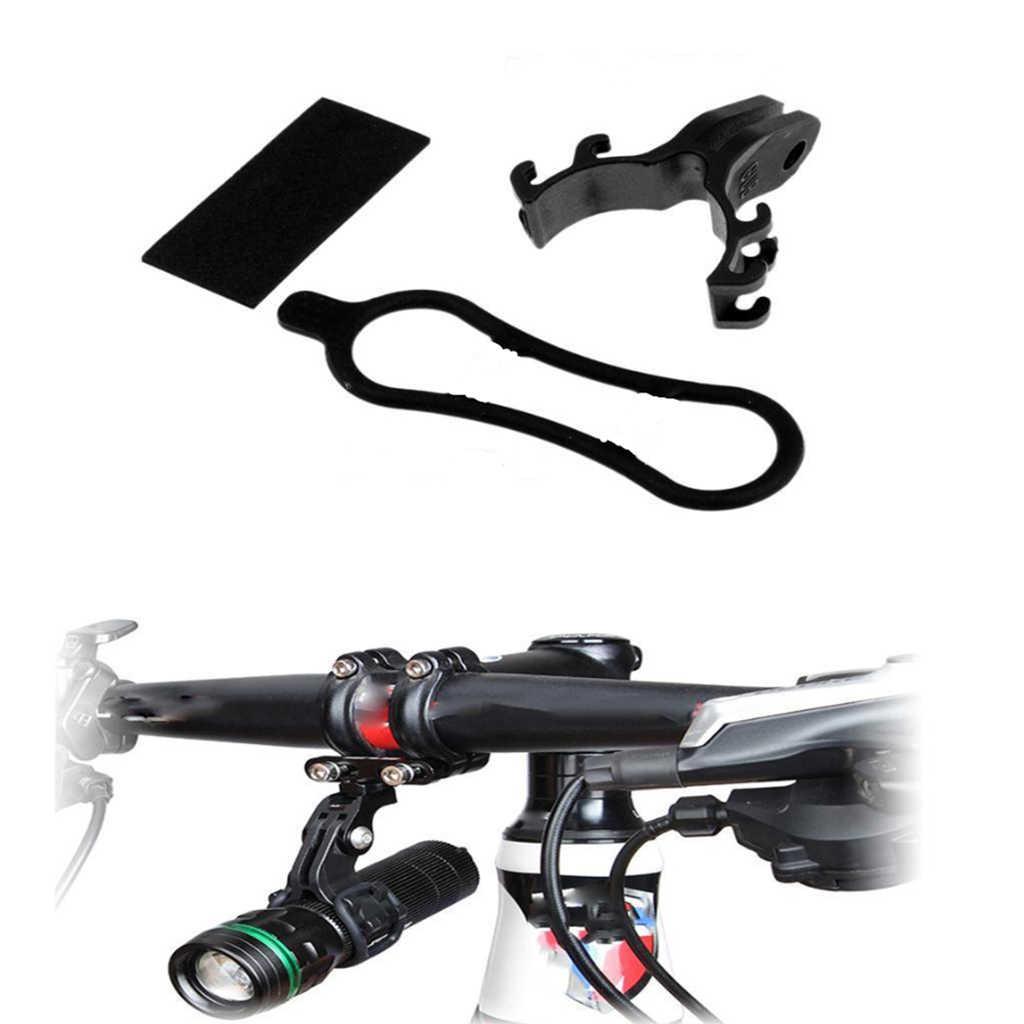 Lampu Obor Senter Pemegang Klip Kamera Mount Braket untuk GoPro