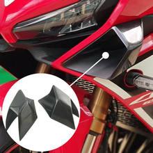 Przednie światło motocykla osłona boczna Winglet wiatr Fin Spoiler pokrywa osłonowa dla Honda CBR650R cbr 650r cbr 650 r akcesoria 2019 2020