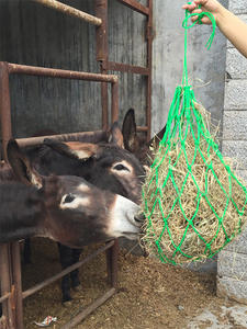 Hay-Bag Sack-Horse Racing-Equipment Stable-Supplies Horse-Forage Care-Products Mesh Fodder-Bags