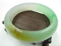 free shipping 02025 FINE JEWELRY Chinese Charming Green (Jadeite) Bangle / Bracelet