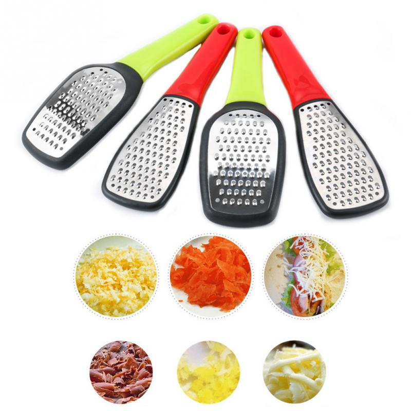 Practical <font><b>Cheese</b></font> <font><b>Grater</b></font> Home Stainless Steel <font><b>Rotary</b></font> Slicer Durable Hand-Cranked Vegetables Long Handle Multifunctional Chocolate image