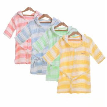 Ubranka dla dzieci chłopiec Romper ubranka dla dzieci zimowe noworodki z długim rękawem dla dzieci chłopcy kombinezon ubranka dla niemowląt niemowlę Onesie kostium 38 tanie i dobre opinie COSPOT COTTON Szaty Pasuje prawda na wymiar weź swój normalny rozmiar Czesankowej Unisex Paski