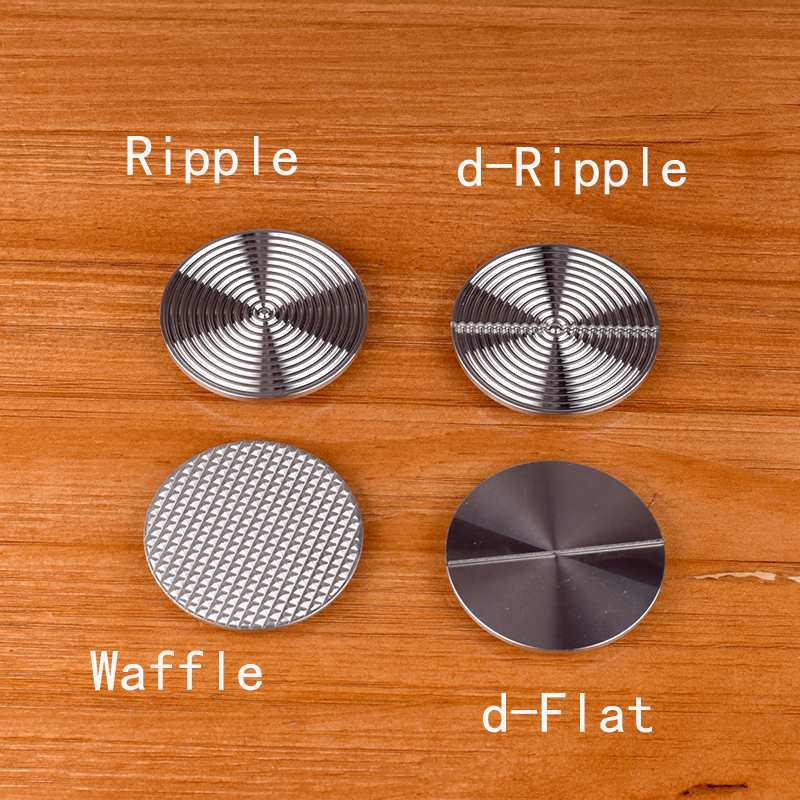 The base of The force tamper  parts D-ripple/flat/waffle base 58.5mm the force tamper holder