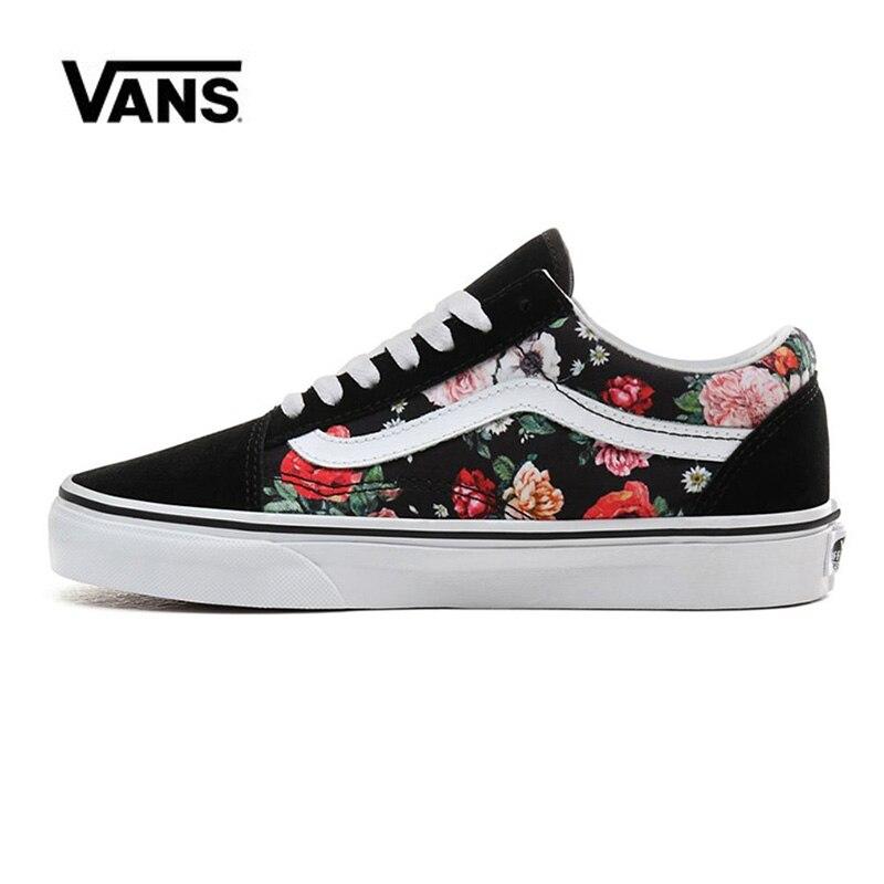 Vans Old Skool  Garden Floral Men Shoes Original Sneakers Unisex Vans Women's Shoes Skateboarding  VN0A4BV5V8X