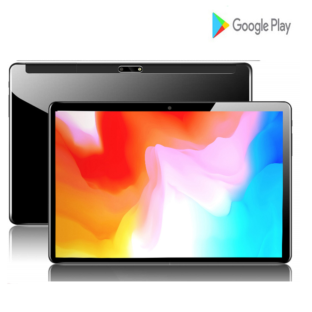 2020 New 10 Inch 2.5D Glass Tablets PC 4 Core RAM 2GB 32GB ROM Dual SIM 8.0 MP GPS Android 7.0 Google IPS The Tablet 10.1