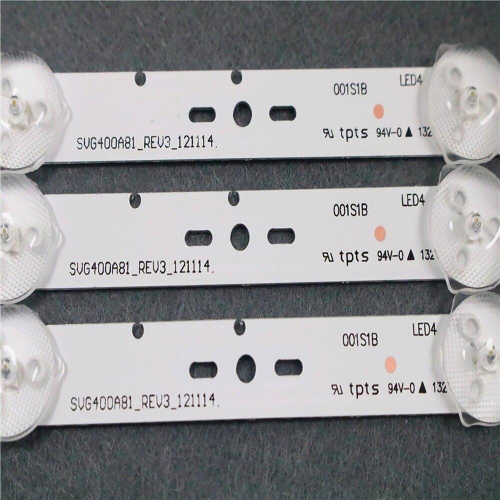 1-1 комплект = 10 шт., светодиодный светильник для ЖК-телевизора SONY KLV-40R470A SVG400A81 _ REV3_121114 смотреть на Алиэкспресс Иркутск в рублях