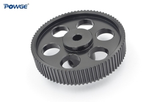 Image 3 - POWGE VORON DESIGN 80 Teeth 2MGT 2GT Timing Pulley Bore 5mm for GT2 2M Open Synchronous belt width 9/10mm 80Teeth 80T 3D printer