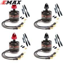 4 juegos/lote EMAX 2212 MT2213 Motor sin escobillas 935KV para F450 F550 X525 multicóptero Quadcopter 1045 hélices
