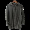 LANMREM 2021 New Fashion Personality Black Strap Vertical Stripe Off-shoulder Long Sleeve Shirt Female's Blouse Vestido YE22801 6