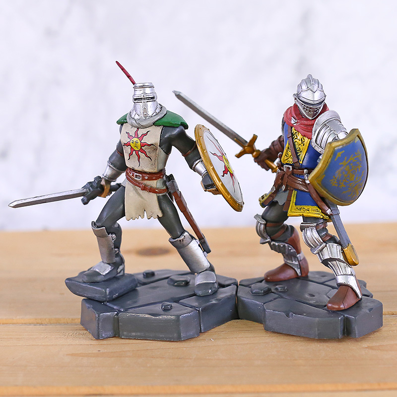 Dark Souls Heroes of Lordran Solaire of Astora 10cm PVC Figure Statue New In Box