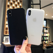 Shockproof Protect Matte Silicone Phone Case For ip