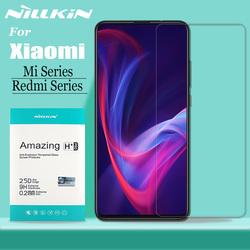 Redmi Note 8/7/6/5 Pro Tempered Glass Screen Protector Nillkin 9H Safety Tempered Glass for Xiaomi Mi 9 8 SE 9T Pro 6X A2 A3 6