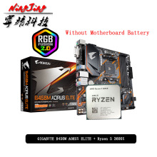 ELITE 3600x-Cpu B450m-Aorus Amd Ryzen Suit-Socket GA New AM4 Cooler But R5 All Without