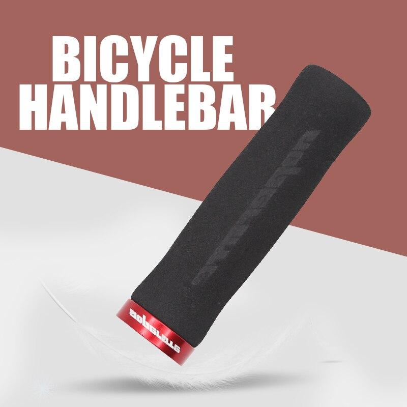 PCycling Bicycle Grips Arc Non-Slip Sponge Foam MTB Road Bike Soft Comfortable Grips Ergonomic Lockable Handle Grips