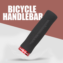 PCycling Bicycle Grips Arc Non-Slip Sponge Foam MTB Road Bike Soft Comfortable Grips Ergonomic Lockable Handle Grips