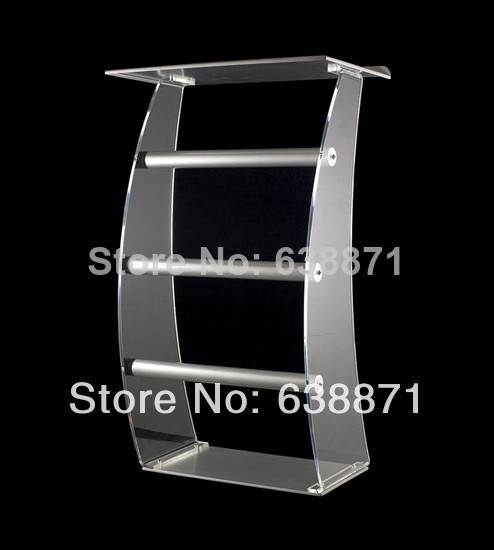 Free Shiping Professional Design High Quality High Lucency Acrylic Lectern/Podium