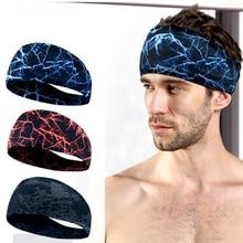Впитывающая повязка для велоспорта, йоги, спорта, пота, мужская спортивная повязка для мужчин и женщин, повязка для волос для йоги, повязка для головы, пота, Спортивная безопасность