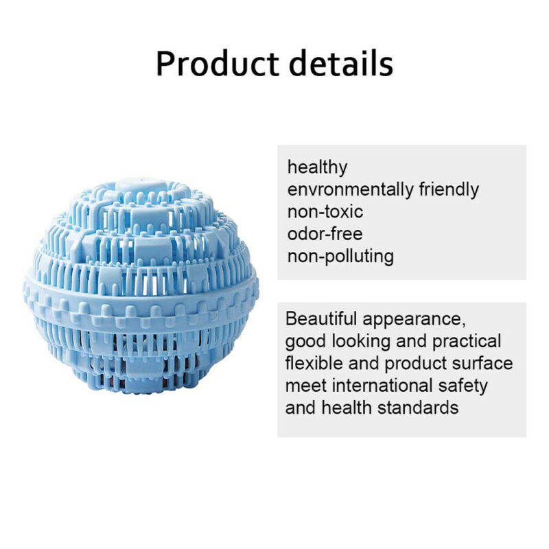 Eco Magic Laundry Ball Orb No Detergent Washing Machine ION Wash Wizard Style Laundry Balls in Laundry Balls Discs from Home Garden