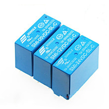 цена на Smi-05v 12V 24vdc-sl-a-sl-c-sl-2c 5A 10A 4 / 5 / 8-pin relay