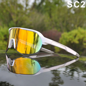 Image 4 - Brand Outdoor Sports Cycling Glasses S2 S3 Men Cycling Goggles Mountain Bike Cycling Eyewear UV400 Peter Riding Sunglasses