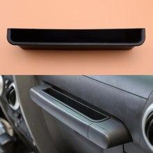 Porta do Passageiro Do Lado Interior Grab Lidar Com o Armazenamento Box Organizer Tray fit para Jeep Wrangler JK JKU 2007 2008 2009 2010