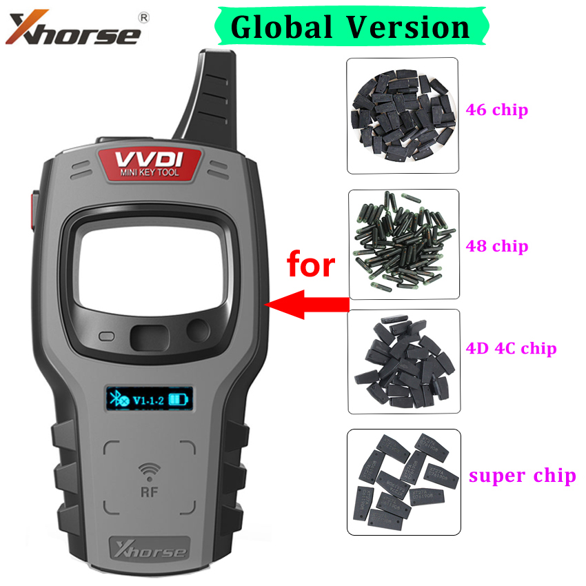 10pcs lot Xhorse VVDI Super Chip XT27A01 XT27A66 Clone Chip for ID46 40 43 4D 8C 8A T3 47 for VVDI2 VVDI Key Tool Mini Key Tool