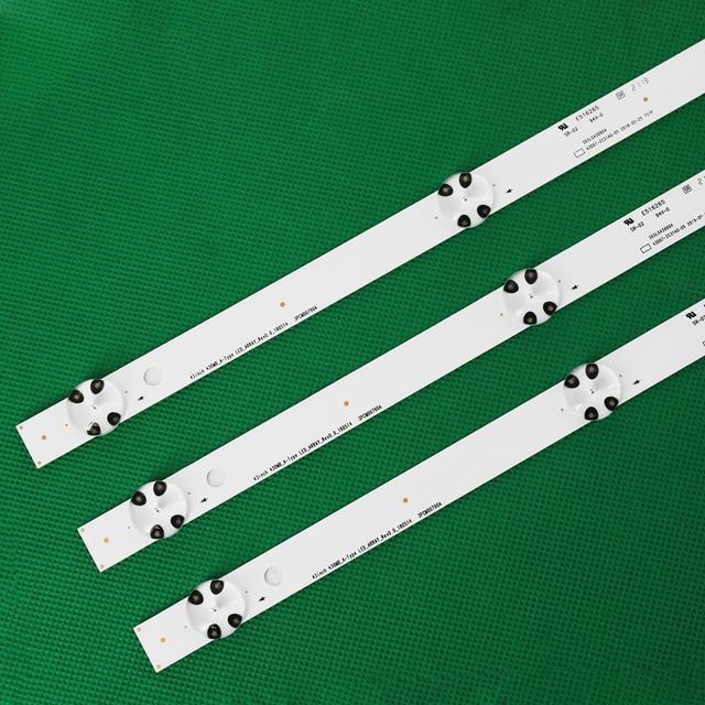 3 PCS LED Backlight strip for LG 43UJ635V 43UK6300PLB 43UJ651V 43UJ634V 43UJ630V 43UJ561V 43UJ655V LC43490059A LC43490058A 2
