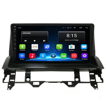 2 Din Android 10.0 for Mazda 6 2002-2008 Car GPS Navigation DVD Player WIFI 2G+32G Autostereo Flip cover 9 Inch IPS Headunit image