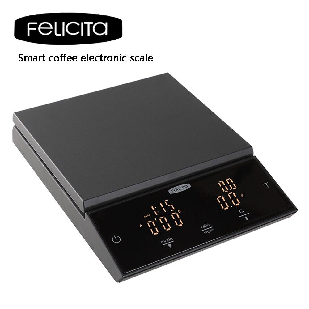 Кофейные электронные весы с таймером цифровые кухонные весы высокой точности ЖК весы для выпечки измерительный инструмент/0,1 г