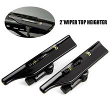 Hypersonic Car Wiper Pressure Top Stand Windshield Black Wing Blade Spoiler Accessories