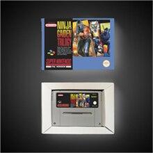 Ninja Gaiden Trilogy EURการกระทำเกมการ์ดขายปลีกกล่อง