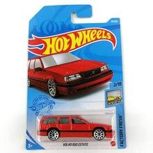 Rodas quentes carros 1/64 volvo 850 estate collector edição metal diecast modelo carro crianças brinquedos