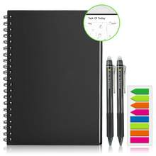 Newyes smart wielokrotnego użytku wymazywalna notatnik spirala A4 zeszyt notatnik Pocketbook notes biuro rysunek szkolny prezent nowy