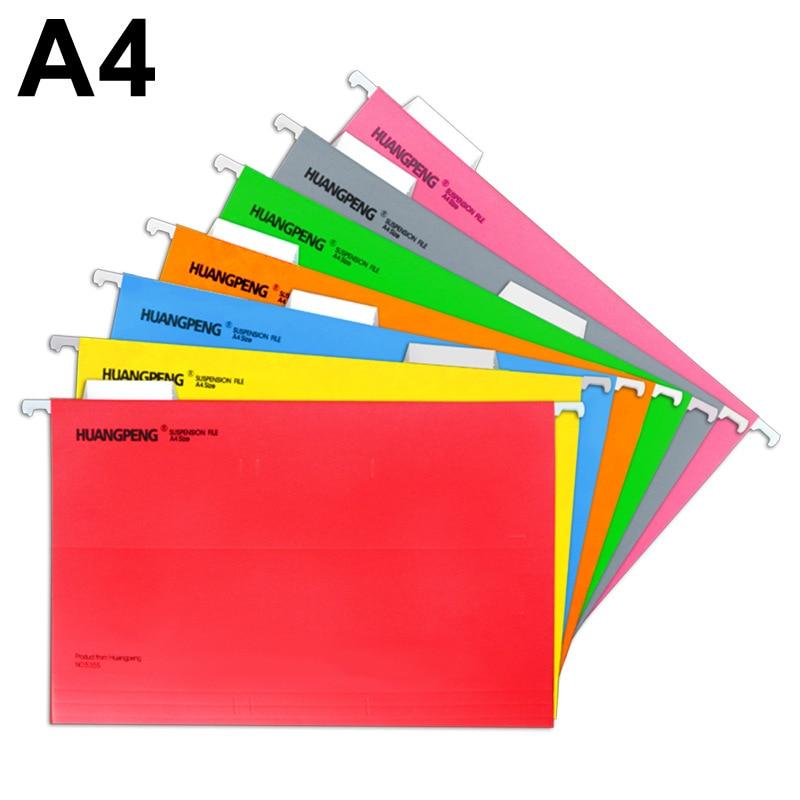 2PCS A4 Hanging Paper Folder Clip Iron Hooka File Document Desk Organizer Binder Office Accessories School Supplies Clipboard