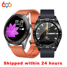 696 GW15 Fashion Smartwatch Case Alloy Smart men's Watch Men Women Heart Rate Fitness Bracelet measurement IP67 Waterproof Track(China)