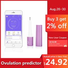 Pelvifine Smart Basal Thermometer Ovulation Period Tracker with APP Auto BBT Sync Charting Coverline Prediction