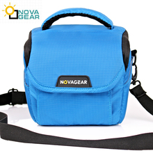 NOVAGEAR 80701 DSLR Camera Bag Case Photo Shoulder Strap for H400/HX300 Canon/Nikon/Sony Cameras