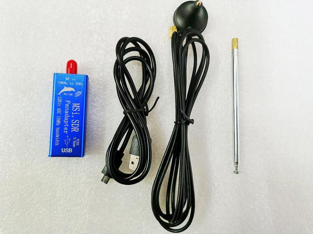 MSI.SDR 10 кГц на 2 ГГц, адаптер Panadapter SDR ресивер, совместимый SDRPlay RSP1 TCXO 0,5 ppm