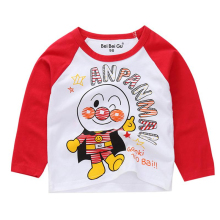 Baby Boys Clothes Girls Cartoon Cotton T Shirts Children Printed Tees Long Sleeve Kids Infant Tee Tops