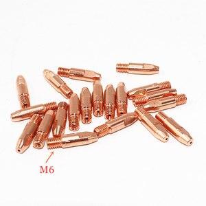 Image 3 - MB 24KD Torche De Soudage Consommables 35 pièces 0.8mm 1.0mm 1.2mm MIG Torche Gaz Buse de Gaz de Titulaire diffuseur de MIG MAG Machine De Soudage