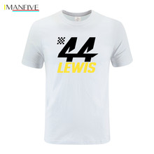 Lewis Hamilton 44 Formula 1 Motor Racing T-Shirt Race Car World Champion T Shirt the Quality printing cotton Tee Shirt rupauls drag race werq the world