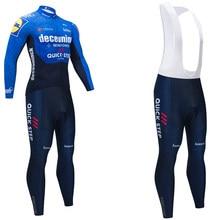 QUICKSTEP – Maillot de l'équipe de cyclisme, pantalon de vélo 20D Pro Ropa Ciclismo, veste polaire, uniforme, nouvelle collection hiver 2021