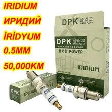Bujía de iridio DPK, 4 unidades por lote, para BPR6ES, BPR6EIX, BPR6EVX, IW20, VW20, W20EPR, W20EXR U, BY480 BPR6E, BPR6EGP, BPR6EVX